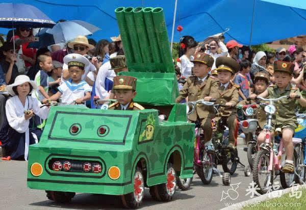 朝鲜阅兵式 [儿童图片]