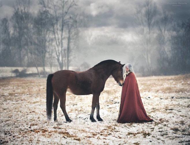 magdalena russocka将童话场景带进真实世界的梦幻摄影