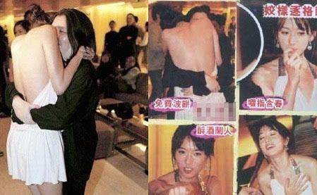 林志玲醉酒失态照片曝光 被潜规则?