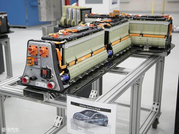 第一代沃兰达使用的锂电池组