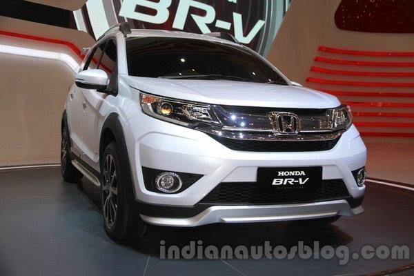 本田7座SUV车型BR V发布 搭1.5L发动机高清图片