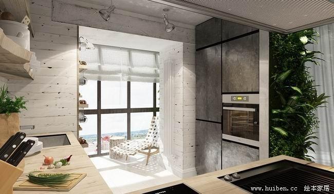 一个49平米的单身公寓设计