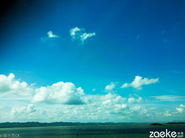 ro摄影作品 蓝蓝的天空高挂我的梦图片