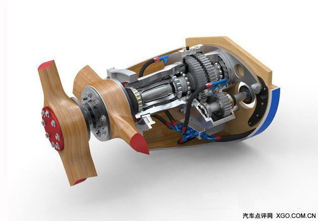 布加迪100p独特的减速器传动机构设计
