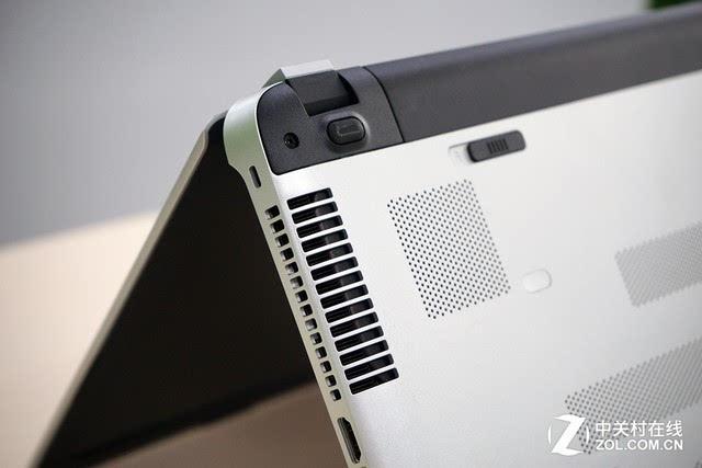 后置电池设计是绝大多数达到一定轻薄程度的笔记本电脑最为常用的,这