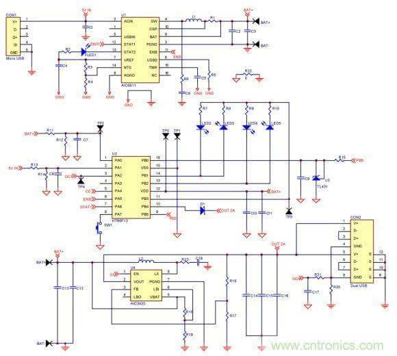 ac100v-240v电源电路