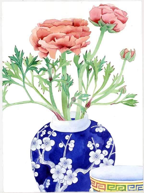 你需要的水彩花卉素材