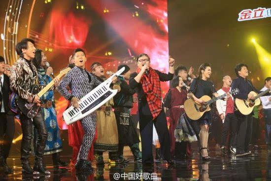 中国好歌曲2总决赛 学员们和导师《唱我的歌》   第二季...