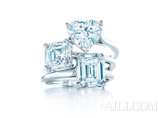 tiffany钻石戒指图片