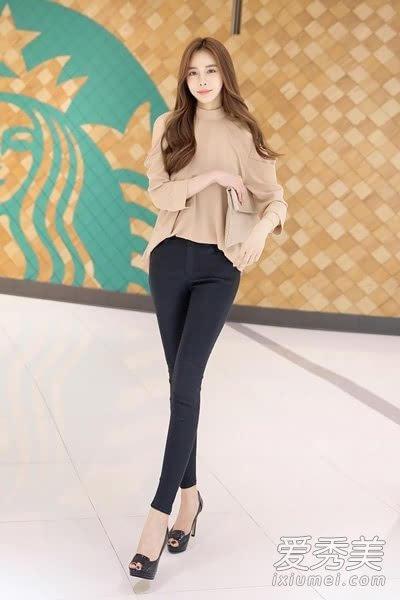 铅笔裤显瘦百搭 配高跟鞋秒变大长腿图片