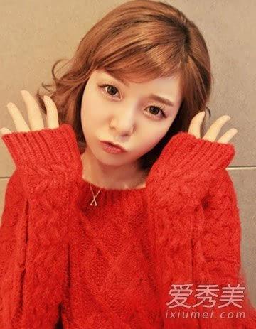 2015短发弄什么发型好看 韩式短发最可爱
