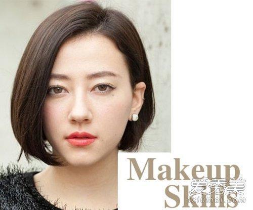 韩式日常妆:底妆腮红化妆步骤