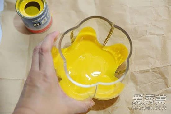小玻璃瓶diy创意清新家饰 制作教程图解图片