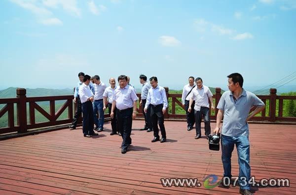 苏营调研耒阳《地质灾害防治条例》落实情况
