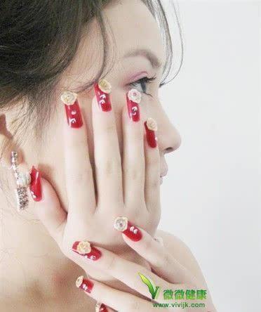 经常涂指甲油对指甲和对人体的害处图片