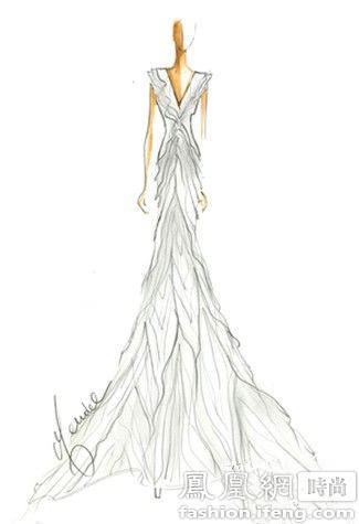 ladygaga的婚纱设计稿很奇葩?还有呢!