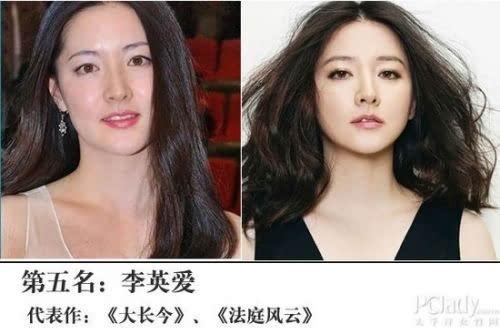 女星排行榜_韩国女星排行榜