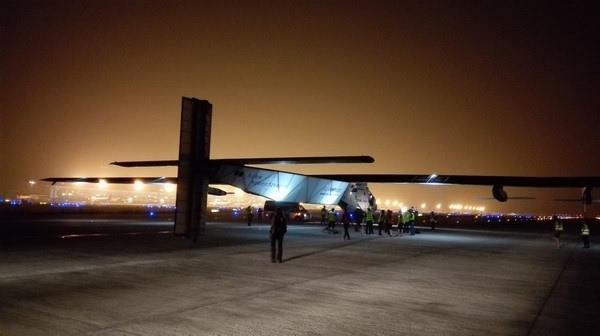 太阳能大飞机在南京禄口机场的那些日子
