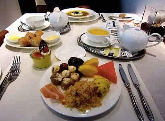 阿联酋航空公司居全球各大航空公司的飞机餐榜单之首
