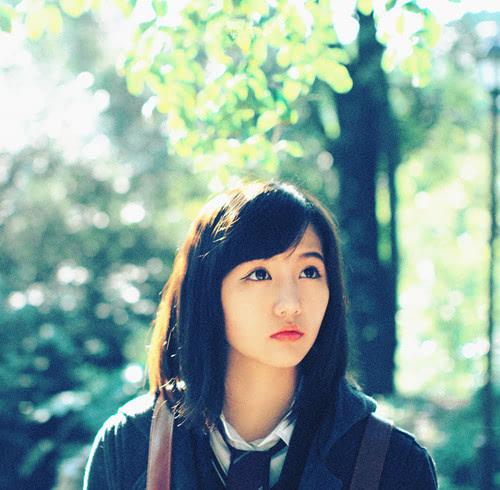 小清新女生伤感个性唯美美女写真