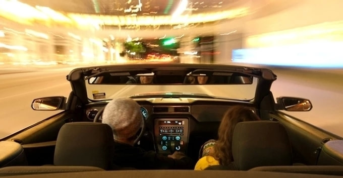 """""""女司机专享""""的汽车后视镜"""
