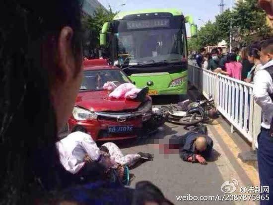 北京某高官儿子车祸_北京密云车祸现场惨烈 已致3人死亡20人受伤图