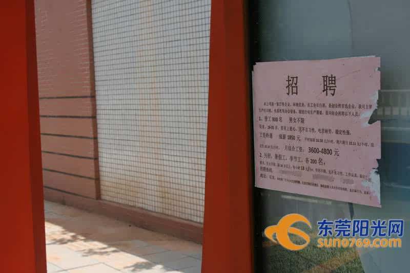 石龙:暑期工招聘小广告漏洞百出 学生哥求职