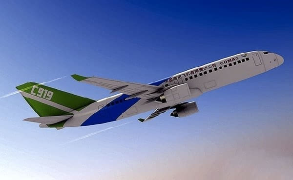 国产大飞机c919将安装首台发动机