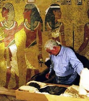 曝埃及法老王真容 黄金面具下的秘密图片