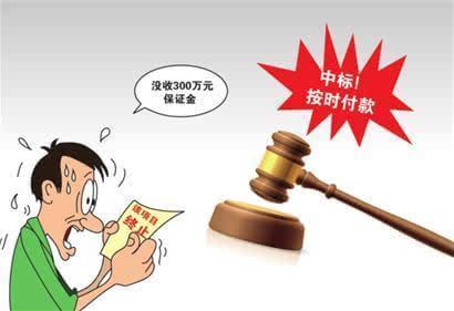 代打投标保证金是否可行,投标保证金被没收的情况 法律知识大全|律图