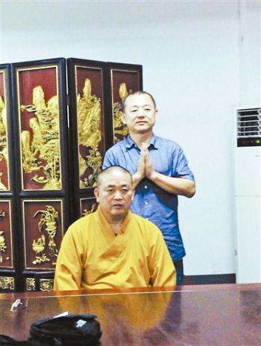 释永信未随团访泰 教授史璞证实其在少林寺