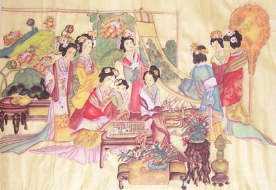 古代妃子舞蹈图片大全手绘