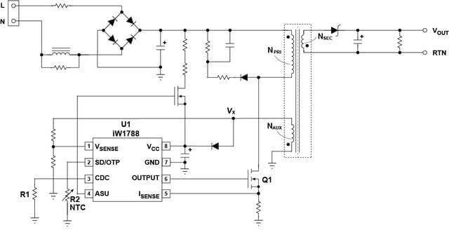电路,能允许充电器根据电流决定充电需要的初始电压,此时pmic发出脉冲