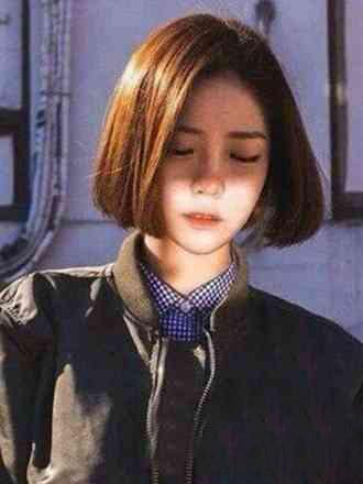 韩式中短发百变发型 甜美烫发修颜更减龄图片