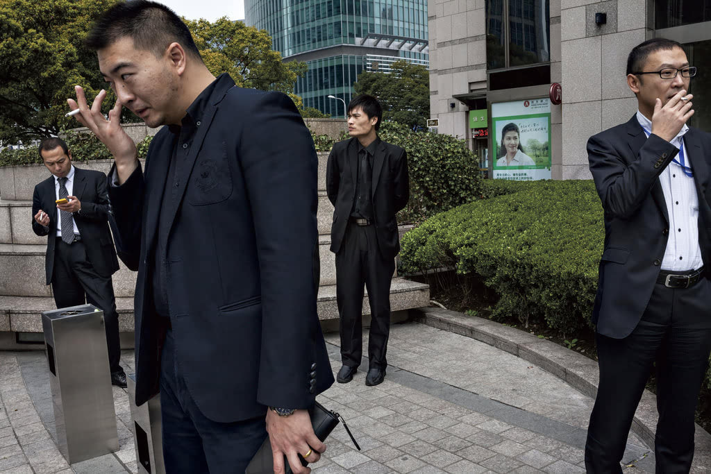 """一组记录中国""""剩女""""日常生活的照片"""