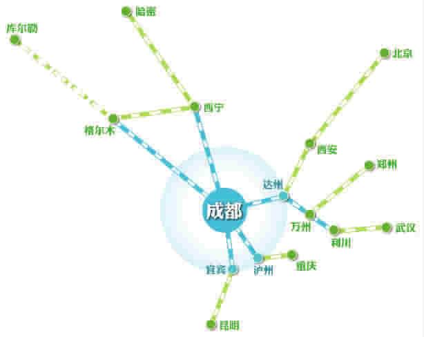西宁到上海铁路地图
