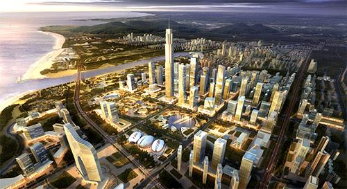 青岛西海岸大项目扎堆 8月又添三个百亿级项目
