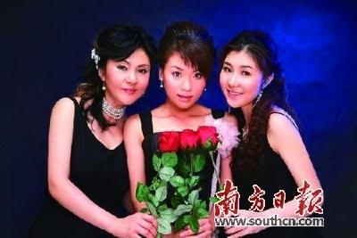 首支女子三重唱组合 黑鸭子 来了