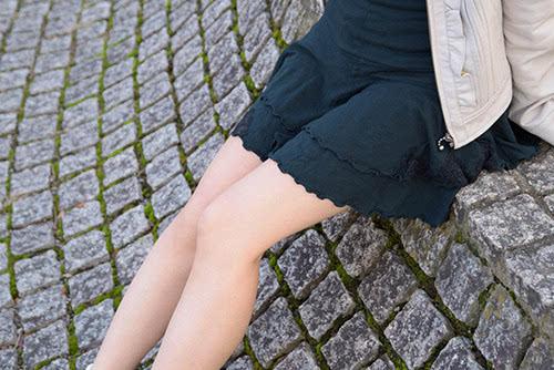 少女如何穿伊顿套装制服高跟鞋违反校规了