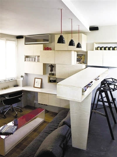 创意收纳空间设计 小户型装出大精彩