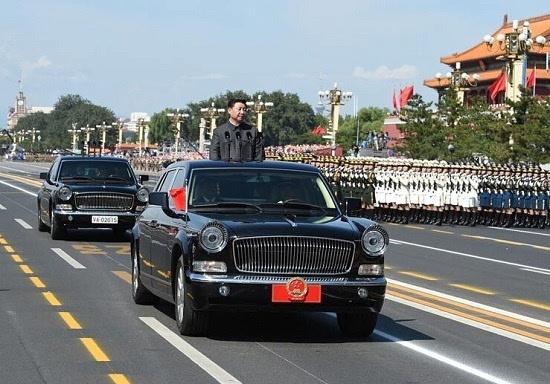 1,习总乘坐的红旗检阅车是什么车型?