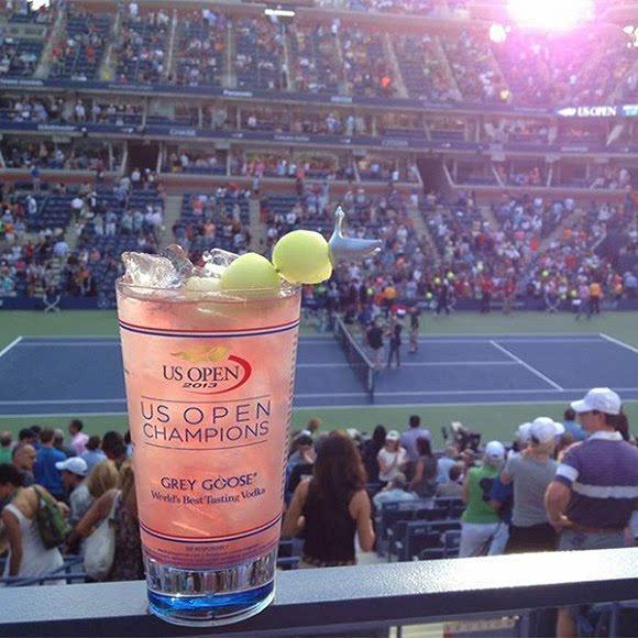 前方放毒预警:美国网球公开赛是最好吃好喝的