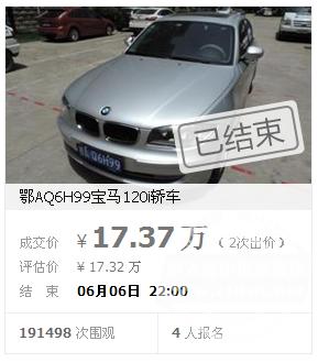 武汉网络司法拍卖今年卖2亿 有人淘便宜有人落