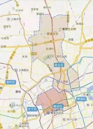 闸北区gdp_上海静安区闸北区宣布合并成静安区