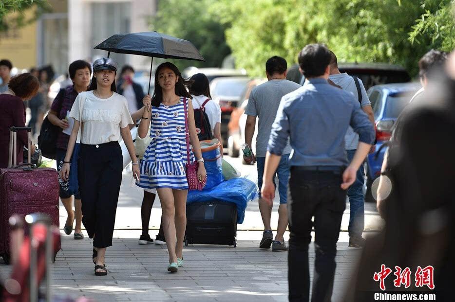 北京电影学院新生开学