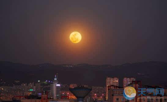 30年一见 中秋可赏超级月亮加月全食奇景