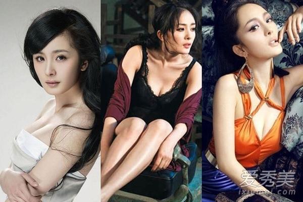 杨幂柳岩 最让男人心动的十大性感美胸女星