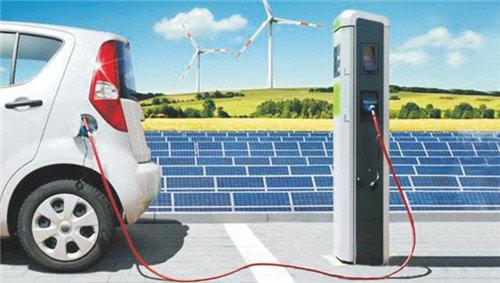 阳发布新型电动汽车充电桩高清图片