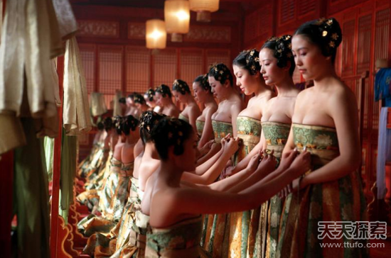 古代后宫嫔妃处境:沦为帝王发泄工具图片