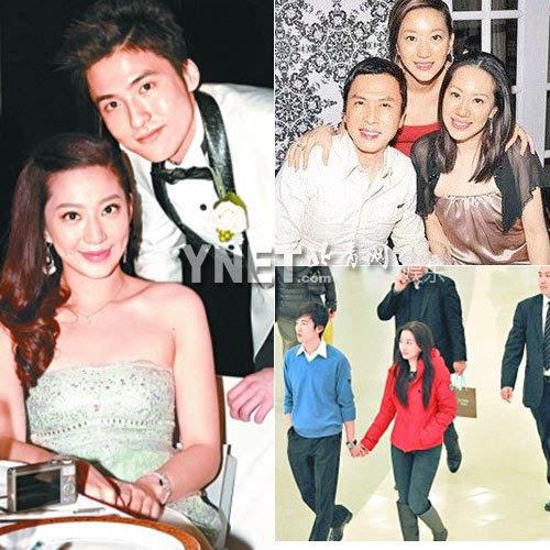 甄子丹小姨子汪圆圆与玩具大王蔡志明的儿子蔡加赞今年1月订婚,两人